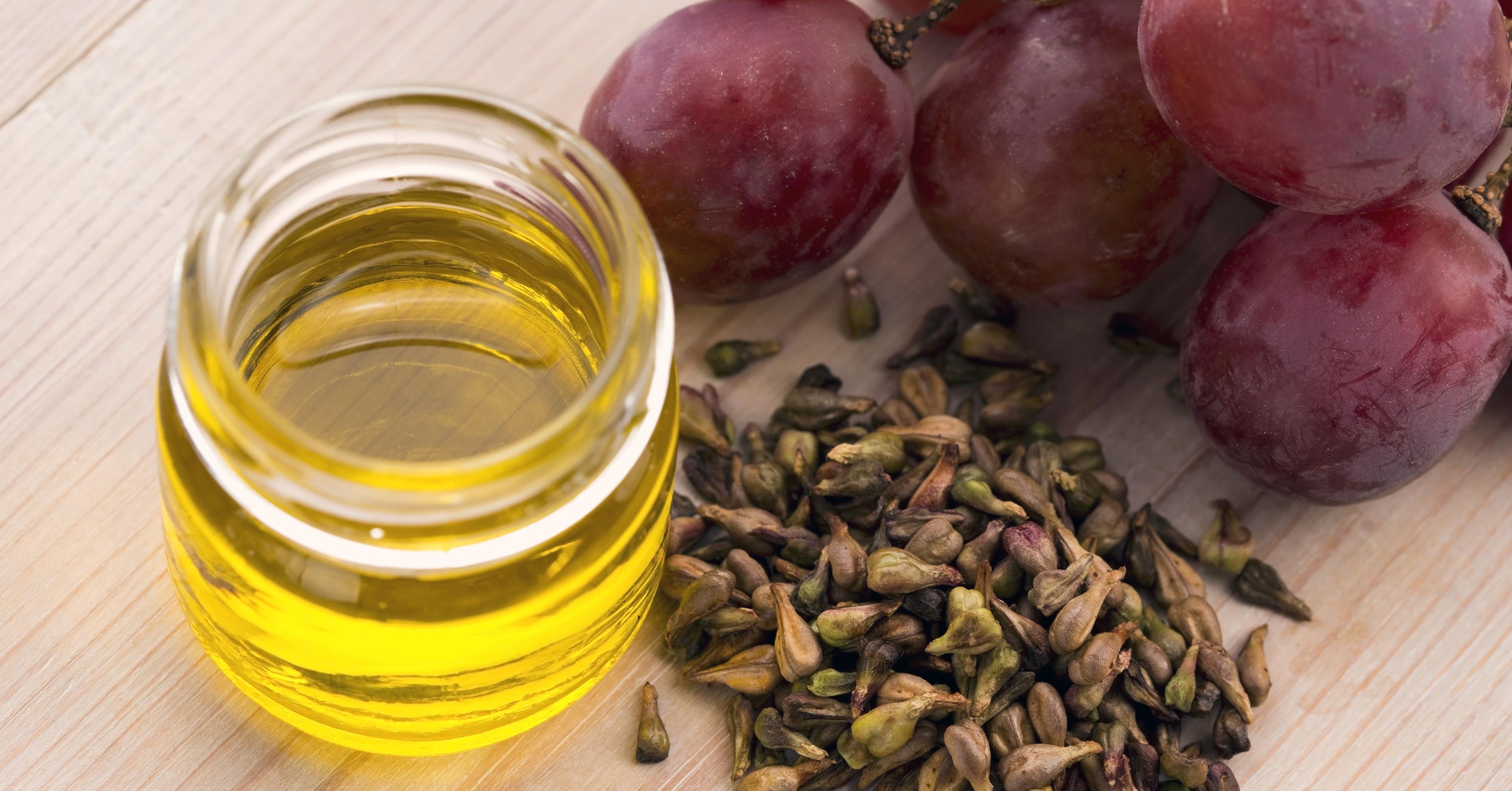 清爽不黏的葡萄籽油
